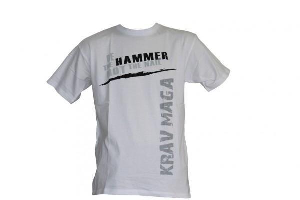 L2F T-Shirt Krav Maga Be the hammer Waggerecht