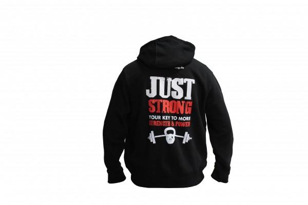 Just Strong Kaputzenpullover