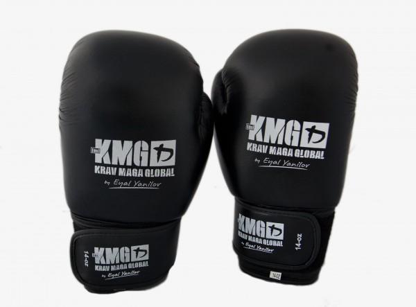 KMG Echtleder Boxhandschuhe 14 oz