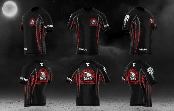 MMA Rough Fighter Rashguard