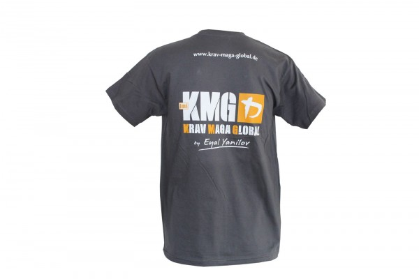 Krav Maga Global T-Shirt Grau