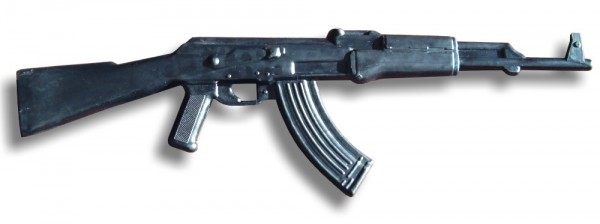 Trainingsgewehr AK-47 aus Hartgummi