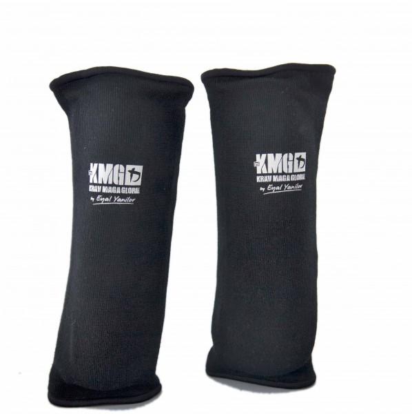 KMG Unterarmschützer Schwarz Größe XL