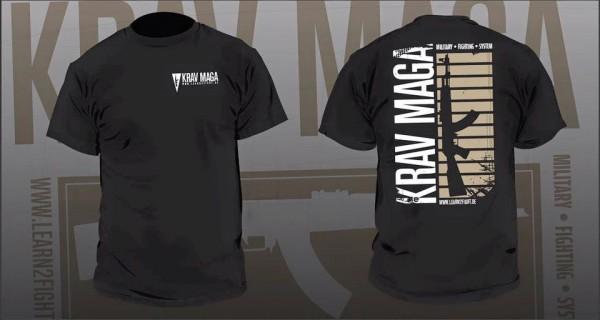 L2F T-Shirt Krav Maga AK 47 Style