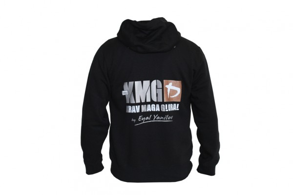 KMG Kapuzenjacke Krav Maga Global - Alte Version Bronze / Silber