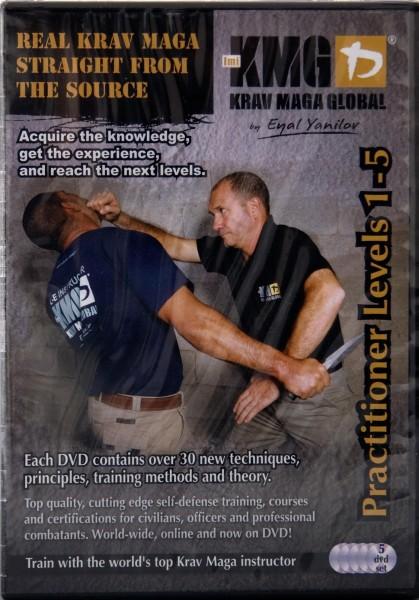 Krav Maga DVD Set Practitioner P1 - P5