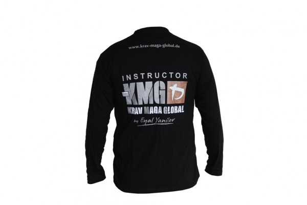 KMG Instructor Langarmhemd Krav Maga Global